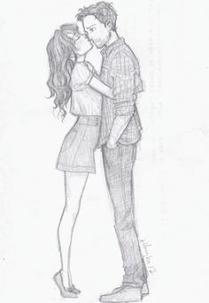 #Love couple #sketch