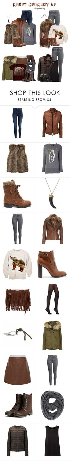 """Untitled #2350"" by queerlillady ❤ liked on Polyvore featuring H&M, Markus Lupfer, House of Harlow 1960, Wallis, Aloha From Deer, Gianvito Rossi, Rebecca Minkoff, Wolford, Woolrich and Reiss"