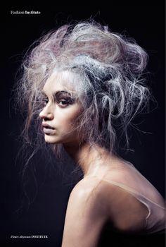 Fleurs Abyssaux - Photographed by Sayaka Bono  Hair Rimi Ura  Makeup Yui Koretomo  Model Alona Remex