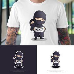 Ninja Parent Logo design