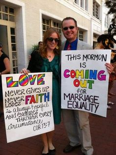 This is a Mormon I could (possibly) like.       32 Gay Pride Pictures Everyone Should See