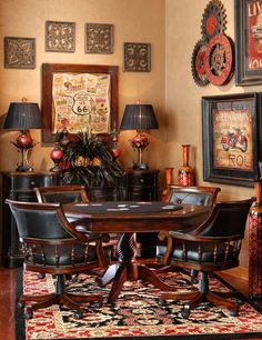 Home Design Ideas - Best Home Design Ideas Wih Exterior And Interior Design Poker Table And Chairs, Dining Chair, Game Room Bar, Game Rooms, Table Games, Cool House Designs, Decorating Your Home, Entryway Tables, Family Room