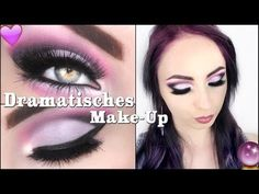 Dramatisches Make-Up ♡ I Hannah Black - YouTube