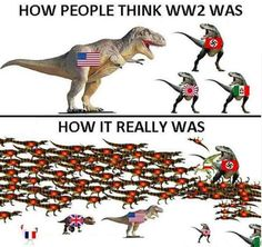 What WW2 actually looked like