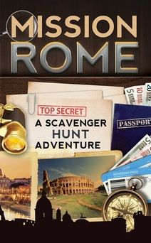 Rome book for kids: 'MISSION ROME – A SCAVENGER HUNT ADVENTURE'; Looking for a fun (and educational!) way to make the most of your trip to Rome? Click to check out MISSION ROME and discover more about the Scavenger Hunt Adventures series!