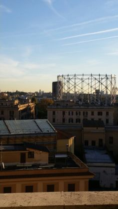 Gazometro the view from our Girasolereale holiday apartment #gazometro #Testaccioholidayapartment