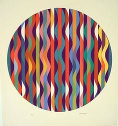 Find the latest shows, biography, and artworks for sale by Yaacov Agam. Op art pioneer Yaacov Agam's abstract artworks—which range from painting, sculpture, … Op Art, Illustrations, Illustration Art, Yaacov Agam, Kinetic Art, Jewish Art, Silk Screen Printing, Geometric Art, Geometric Sculpture