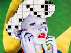 Luca Mainini: moda, collage, fotos...un mundo en movimiento, un mundo diferente...