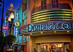 Hollywood Studios - Disney & Co. Where I got my dooney & bourke bags :)