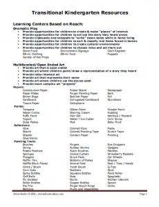 Transitional Kindergarten Curriculum and Instructional Guidelines | California Kindergarten Association