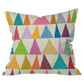 Found it at Wayfair - Nick Nelson Analogous Shapes In Bloom Outdoor Throw Pillow