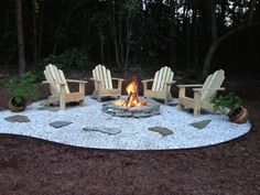 fire pit area :)