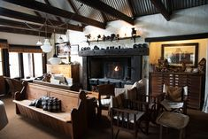 Roaring fires in winter at Cleopatra Mountain Farmhouse