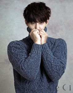 Song Jae Rim Relaxes for Sure's October 2014 Issue | Couch Kimchi