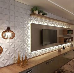 Quirky Home Decor tv wall decor ideas for an efficient and effective tv wall installation process! Tv Cabinet Design, Tv Wall Design, Design Case, House Design, Living Room Tv Unit Designs, Best Living Room Design, Living Room Decor, Living Rooms, Tv Rooms