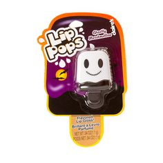 Halloween Lip Pops Ghostly Marshmallow Flavored Lip Balm | Claire's