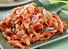 Resep Masakan Ayam Suwir Bumbu Pedas - Resep Masakan yang mudah dan cepat menjadi pilihan bagi wanita yang sibuk. Untuk resep masakan sehat indonesia hari ini resep yang mudah, silahkan mencoba Resep Masakan Ayam Suwir Bumbu Pedas.