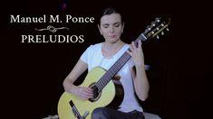 Manuel M. Ponce: Preludios (Sanja Plohl, guitar) Miss Sanja Plohl gives us a beautiful interpretation of Ponce's Preludes. Very sensitive playing, crisp clear sound. Bravo!