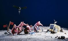 Michael Palin to narrate new series of Clangers on CBeebies Creative Economy, Michael Palin, Monty Python, Kids Tv, Television Program, New Series, Stop Motion, Back In The Day, One Pic