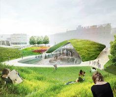Resultado de imagen para green design for public spaces