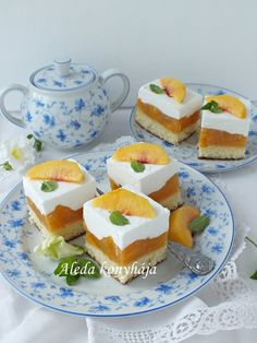 Hungarian Desserts, Fondant, Food And Drink, Pudding, Sweets, Cookies, Baking, Recipes, Drinks