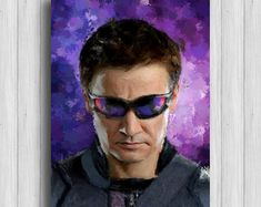 Hawkeye poster marvel gifts avengers decor agents of shield #ad