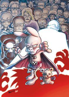 Leo Ortolani - Copertina Rat-Man Color Special 10 (Colori Larry) Rat Man, Rats, Larry, Comics, Anime, Cartoon Movies, Cartoons, Anime Music, Comic