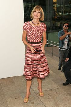 Anna Wintour Photos - Fashion's Night Out: The Show - Arrivals ...