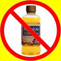 """Homemade Pedialite! - """" The first 5 ingredients of Pedialyte {vanilla nutripal drink} are:  water, sugar {ugh!}, milk protein concentrate, soy oil, and whey protein concentrate.  After those there's a whole gamete of ingredients.  Not to mention ingredient # 12 is artificial flavors and then there's a bunch of things no one can pronounce or understand. And you know another rule of healthy eating is, """"If you can't say it, you shouldn't eat it""""."""""""
