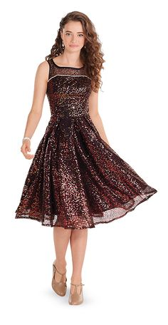 Amanda Dress, its more gold and red in person, So Cute!