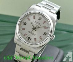 Rolex STAINLESS STEEL AIR KING