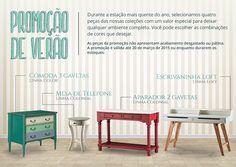 Promoção de verão De Lavie decor.  #nadaéigual  www.delavie.com.br