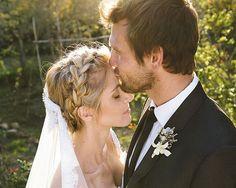 Penteados para noivas. #casamento #noivas #penteados #tranças