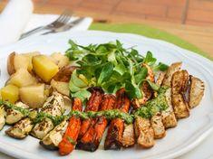 Cobb Salad, Pesto, Vegan, Chicken, Food, Meals, Yemek, Buffalo Chicken, Eten