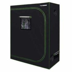 VIVOSUN Mylar Hydroponic Grow Tent with Observation Window and Floor Tray for Indoor Plant Growing Indoor Hydroponics, Hydroponics System, Indoor Gardening, Tent Reviews, Growing Plants Indoors, Grow Room, Grow Tent, Led Grow Lights