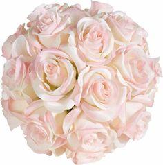 Kunstblume »Rosenkugel« für 19,99€. Kugel aus künstlichen Rosenblüten, Detailgetreu und dekorativ, Aus Kunststoff, Durchmesser: 13 cm bei OTTO