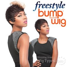 Sensationnel 100% Human Hair Free Style Bump Wig - POPPY [9541]