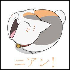 Nyanko-sensei by *Mezamero at deviantart // Nyanko-sensei from 'Natsume Yuujinchou' Manga Art, Manga Anime, Anime Art, Anime Comics, I Love Anime, Anime Guys, Chibi, Natsume Takashi, Hotarubi No Mori