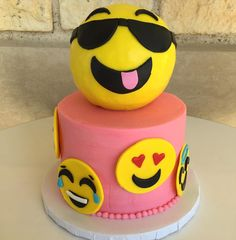 Emoji Cake! So trendy right now!