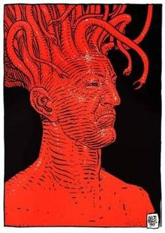 Weird is the New Normal. Jean Giraud, Graphic Design Illustration, Illustration Art, Science Fiction, Heavy Metal Comic, Nogent Sur Marne, Moebius Art, Fractal, Comic Book Collection