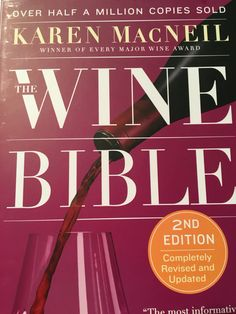 Title says it all! Easy to read and great for traveling ideas (see my Places To Go board) as well as wine studying!!!