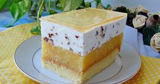 Ala piecze i gotuje No Bake Desserts, Dessert Recipes, Just Cakes, Homemade Cakes, Cake Art, Vanilla Cake, Sweet Recipes, Sweet Tooth, Cheesecake