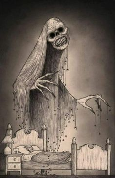 Horror Art by Don Kenn