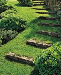 40 cool garden stairs ideas for inspiration - # for # garden stairs . 40 cool garden stairs ideas for inspiration In modern cities, it is actual. Diy Garden, Dream Garden, Garden Paths, Garden Edging, Garden Borders, Garden Bed, Terraced Landscaping, Front Yard Landscaping, Landscaping Ideas