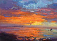 "Don Sahli ""Sunset Fishin"" 24 x 30 Oil on Board Southwest Art, List Of Artists, Impressionism Art, Fine Art Gallery, Still Life, Sculpture, Contemporary, Sunset, Abstract"