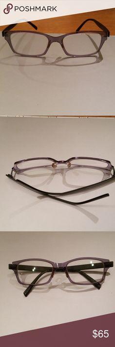 5ab6b2a4a6 Eyeglass frames Aspire Special prescription eyeglass frames in Grey. The  grey has almost a purple