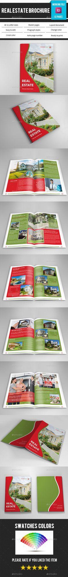 Real Estate Agency Brochure Catalog v4 Real estate agency - real estate brochure template