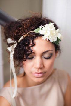 Bridal Hair, curly hair, classy hairstyles, wedding