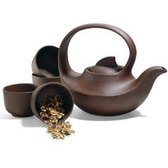 Cycle of Life Yixing Tea Set