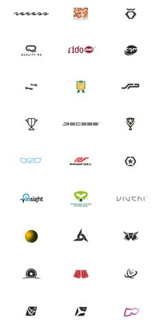 Symbol & Logo Design Archive '94-'08 by Gert van Duinen, via Behance